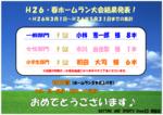 H26春ホームラン大会 結果発表.PNG